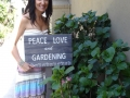 Peace, Love and Gardening